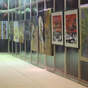 صور من معرض عبير الاحساء للفنون التشكيلية