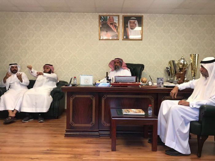 زيارة صاحبة السمو الاميرة عبير بنت فيصل لنادي الصم والنادي الرياضي لذوي الاحتياجات الخاصة