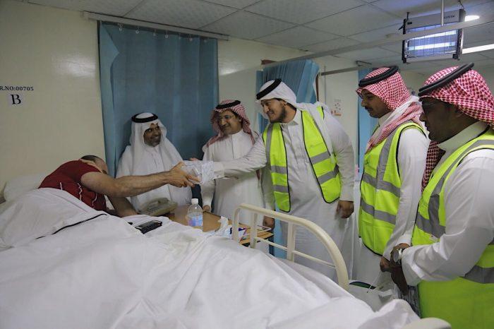 مجلس المسؤولية الاجتماعية بالشرقية يزور مستشفى الظهران