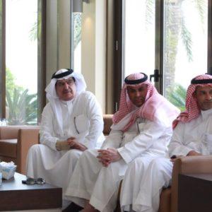 مجلس المسؤولية الاجتماعية برأسة الأميرة عبير بنت فيصل في زيارة لجسر الملك فهد